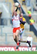 31 August 2008; Colin Holmes, Tyrone, in action against Brendan Doyle, Wexford. GAA Football All-Ireland Senior Championship Semi-Final, Tyrone v Wexford, Croke Park, Dublin. Picture credit: David Maher / SPORTSFILE