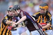 7 September 2008; Alan Dolan, Galway, in action against Cathal Kenny, Kilkenny. ESB GAA Hurling All-Ireland Minor Championship Final - Kilkenny v Galway, Croke Park, Dublin. Picture credit: Brendan Moran / SPORTSFILE