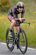 25 June 2015; Eddie Dunbar, NFTO, in action during the National Time Trial Championships. Omagh, Co. Tyrone. Picture credit: Stephen McMahon / SPORTSFILE