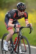 28 June 2015; Eddie Dunbar, NFTO, in action during the Elite Men event at the National Road Race Cycling Championships. Omagh, Co. Tyrone. Picture credit: Stephen McMahon / SPORTSFILE