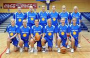 6 September 2008; The Iceland team. Senior Women's Basketball European Championship - Division B - Group A - Ireland v Iceland, National Basketball Arena, Tallaght, Dublin. Picture credit: Stephen McCarthy / SPORTSFILE