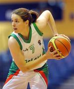 6 September 2008; Niamh Dwyer, Ireland. Senior Women's Basketball European Championship - Division B - Group A - Ireland v Iceland, National Basketball Arena, Tallaght, Dublin. Picture credit: Stephen McCarthy / SPORTSFILE