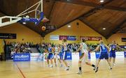 6 September 2008; A general view of the action between Ireland and Iceland. Senior Women's Basketball European Championship - Division B - Group A - Ireland v Iceland, National Basketball Arena, Tallaght, Dublin. Picture credit: Stephen McCarthy / SPORTSFILE
