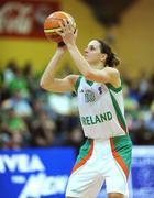 6 September 2008; Susan Moran, Ireland. Senior Women's Basketball European Championship - Division B - Group A - Ireland v Iceland, National Basketball Arena, Tallaght, Dublin. Picture credit: Stephen McCarthy / SPORTSFILE