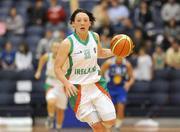 6 September 2008; Lindsay Peat, Ireland. Senior Women's Basketball European Championship - Division B - Group A - Ireland v Iceland, National Basketball Arena, Tallaght, Dublin. Picture credit: Stephen McCarthy / SPORTSFILE