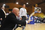 6 September 2008; Ireland assistant coach Mark Ingle and head coach Mark Scannell, right, during the game, Iceland. Senior Women's Basketball European Championship - Division B - Group A - Ireland v Iceland, National Basketball Arena, Tallaght, Dublin. Picture credit: Stephen McCarthy / SPORTSFILE