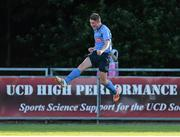 2 July 2015; Ryan Swan, UCD, celebrates after scoring his side's first goal. UEFA Europa League, First Qualifying Round, First Leg, UCD v F91 Dudelange, Belfield Bowl, UCD, Dublin. Picture credit: Brendan Moran / SPORTSFILE