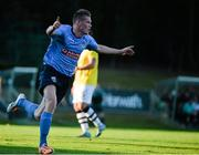 2 July 2015; Ryan Swan, UCD, celebrates after scoring his side's first goal. UEFA Europa League, First Qualifying Round, First Leg, UCD v F91 Dudelange. Belfield Bowl, UCD, Dublin. Picture credit: Sam Barnes / SPORTSFILE