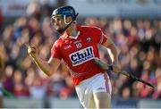 4 July 2015; Conor Lehane, Cork, celebrates after scoring the first goal against Wexford. GAA Hurling All-Ireland Senior Championship, Round 1, Wexford v Cork. Innovate Wexford Park, Wexford. Picture credit: Matt Browne / SPORTSFILE