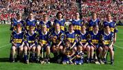 3 September 2000; The Tipperary team prior to the All-Ireland Senior Camogie Championship Final match between Cork and Tipperary at Croke Park in Dublin. Photo by Brendan Moran/Sportsfile