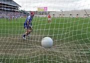 28 September 2008; Valerie Mulcahy, Cork, scores her third goal and her side's fourth goal from the penalty spot. TG4 All-Ireland Ladies Senior Football Championship Final, Cork v Monaghan, Croke Park, Dublin. Picture credit: Brendan Moran / SPORTSFILE