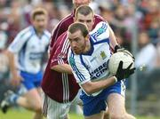5 October 2008; Colin Devlin, Ballinderry, in action against Francis McEldowney, Slaughtneil. Derry County Senior Football Final, Slaughtneil v Ballinderry, Celtic Park, Derry. Picture credit: Oliver McVeigh / SPORTSFILE