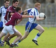 5 October 2008; Colin Devlin, Ballinderry, in action against Barry McGuigan, Slaughtneil. Derry County Senior Football Final, Slaughtneil v Ballinderry, Celtic Park, Derry. Picture credit: Oliver McVeigh / SPORTSFILE