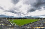 18 July 2015; A general view of Fitzgerald Stadium, Killarney, ahead of the game. Munster GAA Football Senior Championship Final Replay, Kerry v Cork. Fitzgerald Stadium, Killarney, Co. Kerry. Picture credit: Stephen McCarthy / SPORTSFILE