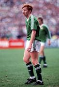 25 June 1990; Gary Waddock of Republic of Ireland the FIFA World Cup 1990 Round of 16 match between Republic of Ireland and Romania at the Stadio Luigi Ferraris in Genoa, Italy. Photo by Ray McManus/Sportsfile