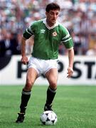 25 June 1990; John Aldridge of Republic of Ireland the FIFA World Cup 1990 Round of 16 match between Republic of Ireland and Romania at the Stadio Luigi Ferraris in Genoa, Italy. Photo by Ray McManus/Sportsfile