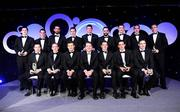 7 November 2008; Dave Sheeran, Managing Director, OPEL Ireland, right, and Dessie Farrell, Chief Executive, Gaelic Players Association, with the OPEL GPA Football team of the year during the 2008 Opel Gaelic Players of the Year awards for Hurling and Football. Back row, from left, Michael Meehan, Galway, Davy Harte, Tyrone, Joe McMahon, Tyrone, Conor Gormley, Tyrone, Anthony Masterson, Wexford, Ryan McMenamin, Tyrone, Enda McGinley, Tyrone, Declan O'Sullivan, Kerry, and John Keane, Westmeath. Front row, from left, Sean Cavanagh, Tyrone, Brian Dooher, Tyrone, Justin McMahon, Tyrone, Philip Jordan, Tyrone, and Darragh O Se, Kerry. Citywest Hotel, Conference, Leisure & Golf Resort, Dublin. Picture credit: Brendan Moran / SPORTSFILE