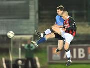 11 November 2008; Sean Harding, UCD, in action against Paddy Madden, Bohemians. A Championship Final, UCD v Bohemians, UCD Bowl, Dublin. Picture credit: David Maher / SPORTSFILE