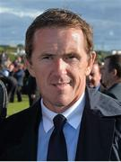 28 July 2015; Retired racing legend A.P. McCoy in the parade ring. Galway Racing Festival, Ballybrit, Galway. Picture credit: Cody Glenn / SPORTSFILE