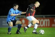 11 November 2008; Paddy Madden, Bohemians, in action against John Reilly, UCD. A Championship Final, UCD v Bohemians, UCD Bowl, Dublin. Picture credit: Diarmuid Greene / SPORTSFILE