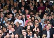 28 July 2015; Racegoers at the races. Galway Racing Festival, Ballybrit, Galway. Picture credit: Cody Glenn / SPORTSFILE