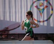 29 July 2015; Team Ireland's Aoife Beston, a member of Claremorris All Stars Special Olympics Club, from Claremorris, Co. Mayo, as she sets out on the first lap of the 5,000M event at the at the Katherine B. Loker Stadium. Special Olympics World Summer Games, Los Angeles, California, United States. Picture credit: Ray McManus / SPORTSFILE