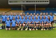 1 August 2015; The Dublin squad. Liberty Insurance Senior Camogie Championship Play-Off, Clare v Dublin. Semple Stadium, Thurles, Co. Tipperary. Picture credit: Matt Browne / SPORTSFILE