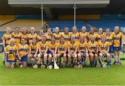1 August 2015; The Clare squad. Liberty Insurance Senior Camogie Championship Play-Off, Clare v Dublin. Semple Stadium, Thurles, Co. Tipperary. Picture credit: Matt Browne / SPORTSFILE