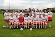 1 August 2015; The Tyrone squad. TG4 Ladies Football All-Ireland Senior Championship Qualifier Round 2, Mayo v Tyrone. Ballinamore, Co. Leitrim. Picture credit: Seb Daly / SPORTSFILE