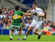 2 August 2015; Padraig Fogarty, Kildare, in action against Aidan O'Mahony, Kerry. GAA Football All-Ireland Senior Championship Quarter-Final, Kerry v Kildare. Croke Park, Dublin. Picture credit: Piaras Ó Mídheach / SPORTSFILE