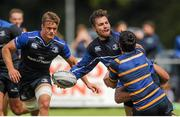 4 August 2015; Leinster'sHarrison Brewerin actionduring squad training. Leinster Rugby Squad Training. Edenderry, Co. Offaly. Picture credit: Eoin Noonan / SPORTSFILE