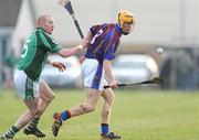 4 January 2009; Shane O'Brien, University of Limerick, in action against Wayne McNamara, Limerick. Waterford Crystal Cup, Limerick v University of Limerick, Claughaun, Limerick. Picture credit: Pat Murphy / SPORTSFILE