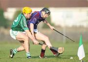 4 January 2009; , Lester Ryan, University of Limerick, in action against Niall Moran, Limerick. Waterford Crystal Cup, Limerick v University of Limerick, Claughaun, Limerick. Picture credit: Diarmuid Greene / SPORTSFILE