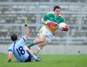 4 January 2009; John Reynolds, Offaly, in action against Philip McMahon, Dublin. O'Byrne Cup, First Round, Offaly v Dublin, O'Connor Park, Tullamore, Co. Offaly. Picture credit: Daire Brennan / SPORTSFILE