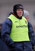 10 January 2009; Leitrim manager John Morrison during the game. FBD League Round 2, Galway v Leitrim, Duggan Park, Ballinasloe, Co. Galway. Picture credit: Paul Mohan / SPORTSFILE