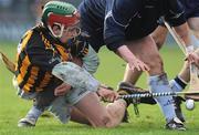 18 January 2009; John Mulhall, Kilkenny, in action against Alan Nolan, Dublin. Walsh Cup, Dublin v Kilkenny, Parnell Park, Dublin. Picture credit: Stephen McCarthy / SPORTSFILE