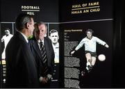 26 August 2015; Cork's Jimmy Barry Murphy, left, and Dublin's Jimmy Keaveney, who were announced into the GAA Museum Hall of Fame. GAA Museum, Croke Park, Dublin. Picture credit: Matt Browne / SPORTSFILE