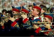 2 September 1990. Members of the Artane Boys Band perform. Cork v Galway, All-Ireland Hurling Final, Croke Park, Dublin. Picture credit: Ray McManus/SPORTSFILE