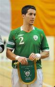 19 February 2009; Mark Langtry, Republic of Ireland. UEFA Futsal Championship 2010 Qualifying Tournament, Republic of Ireland v Cyprus, National Basketball Arena, Tallaght, Co. Dublin. Picture credit: Pat Murphy / SPORTSFILE