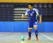 19 February 2009; Charalampos Dimitriou, Cyprus. UEFA Futsal Championship 2010 Qualifying Tournament, Republic of Ireland v Cyprus, National Basketball Arena, Tallaght, Co. Dublin. Picture credit: Pat Murphy / SPORTSFILE