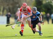 25 February 2009; Adrian Mannix, Cork IT, in action against PJ Nolan, UCD. Ulster Bank Fitzgibbon Cup Quarter-Final, Cork IT v UCD. Cork IT, Cork. Picture credit: Matt Browne / SPORTSFILE *** Local Caption ***