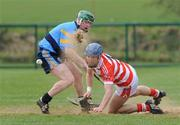 25 February 2009; Eoin Dillon, Cork IT, in action against David Lyng, UCD. Ulster Bank Fitzgibbon Cup Quarter-Final,Cork IT v UCD,  CIT Sports Stadium, Cork. Picture credit: Matt Browne / SPORTSFILE *** Local Caption ***