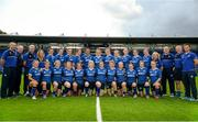 29 August 2015; The Leinster Women's Rugby squad and backroom staff. Women's Interprovincial, Leinster v Connacht, Donnybrook Stadium, Donnybrook, Dublin. Picture credit: Sam Barnes / SPORTSFILE