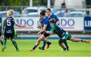 29 August 2015; Nora Stapleton, Leinster, is tackled by Grainne Egan, Connacht. Women's Interprovincial, Leinster v Connacht, Donnybrook Stadium, Donnybrook, Dublin. Picture credit: Sam Barnes / SPORTSFILE