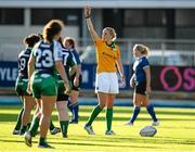 29 August 2015; Joy Neville, match referee. Women's Interprovincial, Leinster v Connacht, Donnybrook Stadium, Donnybrook, Dublin. Picture credit: Sam Barnes / SPORTSFILE