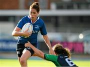29 August 2015; Nora Stapleton, Leinster, is tackled by Edel McMahon, Connacht. Women's Interprovincial, Leinster v Connacht, Donnybrook Stadium, Donnybrook, Dublin. Picture credit: Sam Barnes / SPORTSFILE