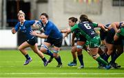 29 August 2015; Laura Fitzpatrick, Leinster, breaks from the scrum against Connacht. Women's Interprovincial, Leinster v Connacht, Donnybrook Stadium, Donnybrook, Dublin. Picture credit: Sam Barnes / SPORTSFILE