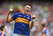 30 August 2015; Tipperary's Tommy Nolan celebrates following their victory. Electric Ireland GAA Football All-Ireland Minor Championship, Semi-Final, Kildare v Tipperary, Croke Park, Dublin. Picture credit: Ramsey Cardy / SPORTSFILE