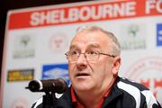 26 February 2009; Team manager Dermot Keely during a Shelbourne Football Club Press Briefing and Sponsors Launch. Regency Hotel, Dublin. Picture credit: Matt Browne / SPORTSFILE