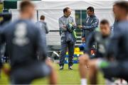 31 August 2015; Republic of Ireland manager Martin O'Neill, left, and assistant manager Roy Keane, during squad training. Republic of Ireland Squad Training, Abbotstown, Co. Dublin. Picture credit: David Maher / SPORTSFILE